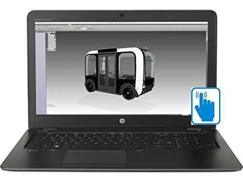 HP ZBook 15U G4 Premium Ultrabook Mobile WorkStation with 15.6 inch Full HD Touchscreen (Intel i7 Processor, 15.6 inch FHD (1920x1080) Touch, 32GB RAM, 500GB HDD + 128GB SSD, Win 10 Pro)