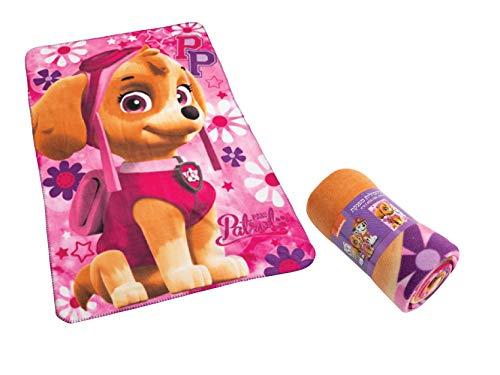 Paw Patrol Pink Soft Fleece Warm Winter Blanket 150x100cm 60