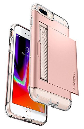 detailed look 8d1c5 235f7 Spigen Crystal Wallet iPhone 7 Plus/iPhone 8 Plus Case with - Import ...