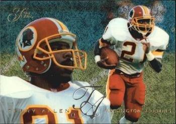 Terry Allen 1995 Flair NFL Football Card #210 (NM/M) Washington (Flair Nfl Football)