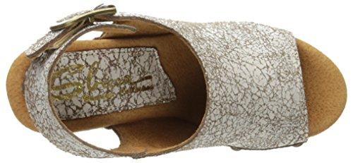 Sandalo Con Tacco Sbicca Da Donna Con Tacco Bianco