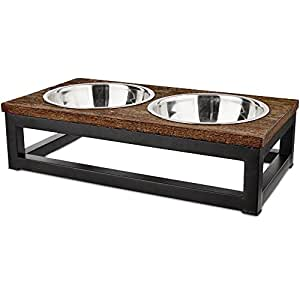Pet Supplies Harmony Elevated Dog Bowl Double Diner 3