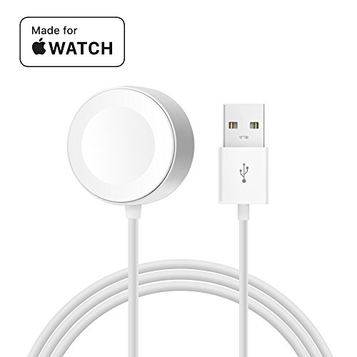 [ Apple MFi Certified ] Apple Watch Charger, MPIO iWatch Magnetic Charging Cable for iWatch 38mm 42mm, Apple Watch Series 1/2/3 (3.3 Feet/1.0 Meter)