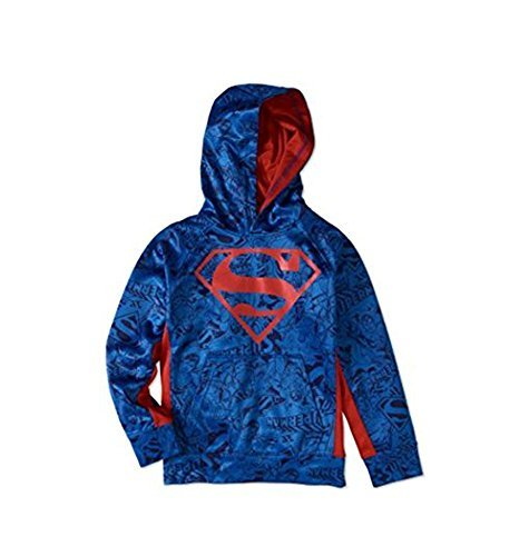 Bioworld DC Comics Superman All Over Pullover Hoodie