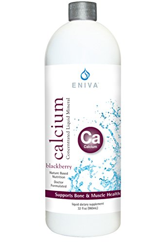 Liquid Ionic Calcium Supplement (32oz) Max Value. Healthy Bones, Hair and Nails. Doctor Formulated. Zero Calories. Zero Sugar. by Eniva Health.