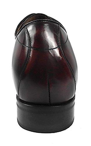 Plus Chaussures cms Taille Acajou Votre pour augmentent Homme Chaussures Qui 7 des Zerimar Réhaussantes ICnwqAqxR