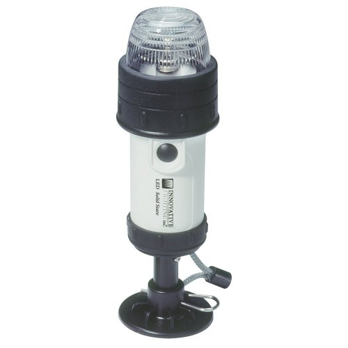 Portable LED Stern Light for (Battery Operated Boat Lights)