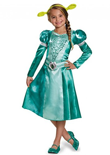 [Disguise Fiona Classic Costume, Small (4-6x)] (Girls Princess Fiona Costumes)