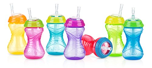Nuby No Spill Clik Straw Colors