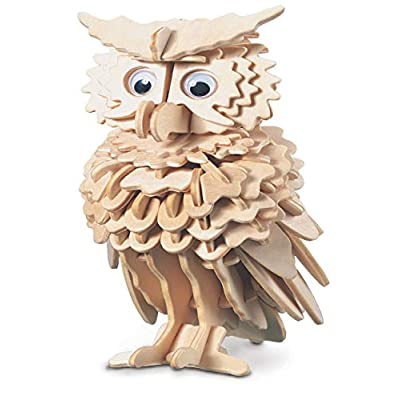 Owl QUAY Woodcraft Construction Kit FSC by Quay: Toys & Games