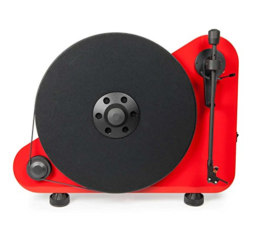 Pro-Ject VT-E BT R  Wireless Turntable, Red