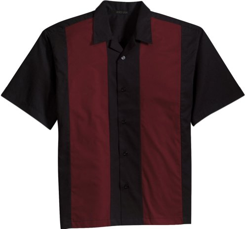 Joe's USA Retro Camp Bowling Shirts in 5 Colors from XS-4XL