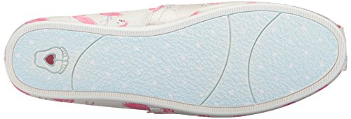 Bobs Da Skechers Womens Bobs Plush-flamingo Fest Flat Natural