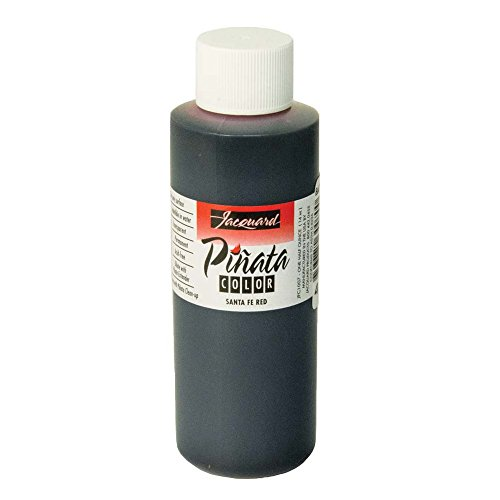 Pinata Santa Fe Red Alcohol Ink that by Jacquard, Professional and Versatile Ink that Produces Color-Saturated and Acid-Free Results, 4 Fluid Ounces, Made in the USA by Jacquard