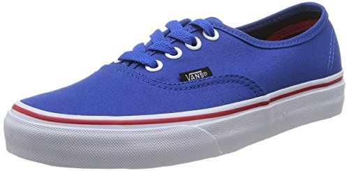 Mode princess Baskets Mixte Vans mars Adulte Red Authentic Bleu U Blue qgZfw0xt
