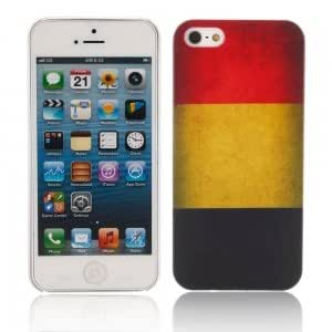 Unique Colorful Protective Case for iPhone 5 Belgian Flag