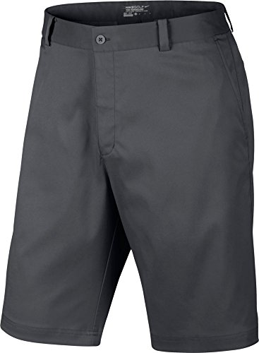 Nike Golf Flat Front Short Dark Grey 40 by NIKE