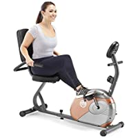 Marcy Recumbent Exercise Bike With Resistance (ME-709)