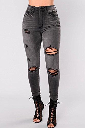 Taille Jeans Dtruit Haute Skinny Jeans Les Black Les A vpagSwYq
