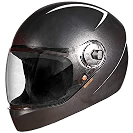 Steelbird WIZIP Combo SBH-21 Wiz Reflective Full Face Helmet (M) and SBH-20 ZIP Reflective Open Face Helmet (WIZ Medium…