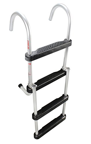 - Extreme Max 3005.4086 Folding 4-Step Pontoon Ladder