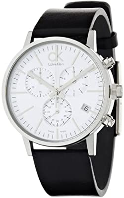 Calvin Klein Chronograph Post Minimal Mens Watch - Stainless Steel