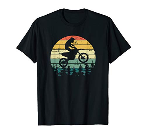 Vintage Motocross Sunshine Dirt-Bike T-Shirt
