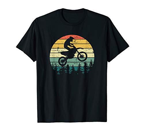 Vintage Motocross Sunshine Dirt-Bike T-Shirt (Women Off Mens Gloves Road)