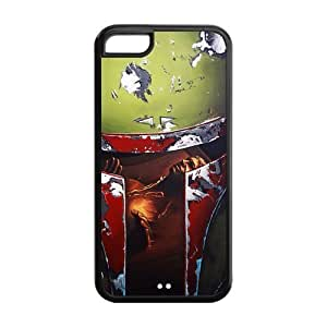 DIY Popular Movies Star Wars Custom Case Shell Cover for iPhone 5c TPU (Laser Technology)