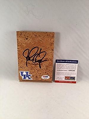 John Calipari Signed Kentucky Wildcats Floor Board - PSA/DNA Certified - Autographed College Floorboards