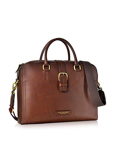 Men's Briefcase Brown Leather 0630173Y14 The Briefcase Brown The Leather Bridge 0630173Y14 Men's Bridge ZwR1q1B8x