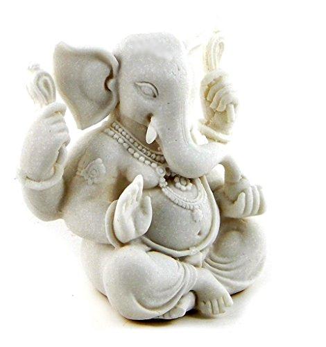 Bellaa 23606 Ganesh Statue Ganesha Hindu God of Good Luck