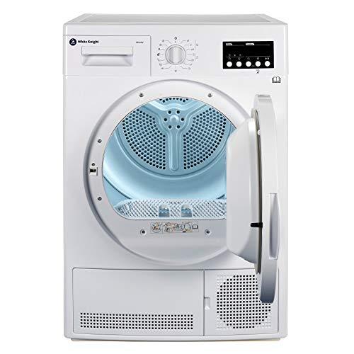White Knight B96V8W 8kg Sensor Condenser Tumble Dryer Reverse Action