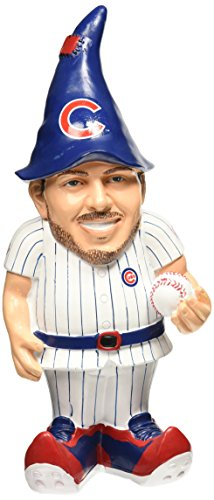 "MLB Chicago Cubs Kris Bryant #17 Resin Player Gnome, 8"", Team Color"