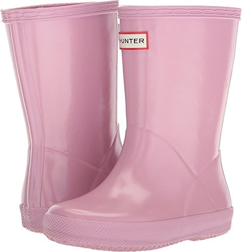 Hunter Kids Baby Girl's First Classic Gloss (Toddler/Little Kid) Blossom 10 M US Toddler (Pink Hunter Rain Boots)