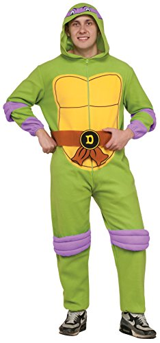 Rubie_s Costume Co. Adult TMNT Adult Donatello Jumpsuit Costume