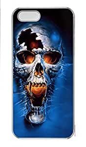 DIY Skin Case for iPhone 5C Plastic Case Back Cover for iPhone 5C With Horror Skull