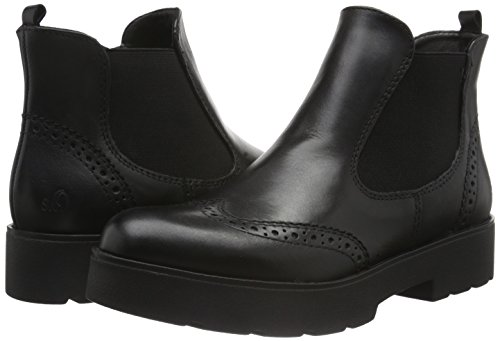 25403 Mujer BLACK Negro s para Oliver 1 Botines gqn5qwOIAx