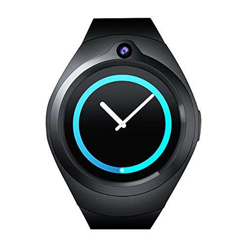 Starter Intelligent Smart Watch Smart Card Insert with Camera Mini Tracker Activity Heart Rate Monitor Support Wifi 3G Android 4 Core Memory 1 + ()