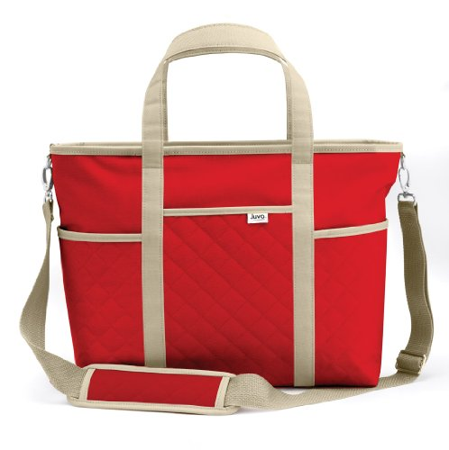Juvo Products TB202 Active Tote Bag, Red, Bags Central