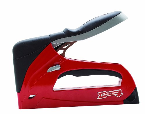 Arrow Fastener T50RED 프로 스테이플 건/Arrow Fastener T50RED Pro Staple Gun