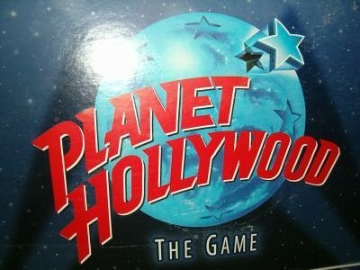 Planet Hollywood the Game of Movie Trivia by Milton Bradley