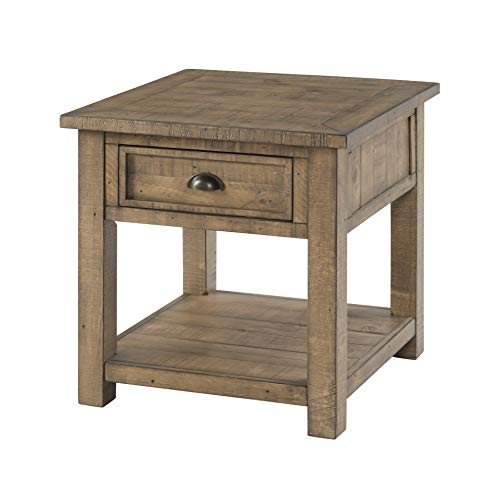 Martin Svensson Home 890634 Monterey Solid Wood End Table Reclaimed Natural