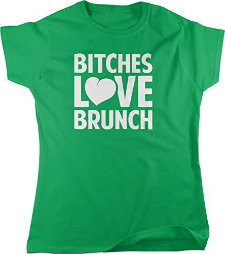 NOFO Clothing Co Bitches Love Brunch Women's T-Shirt, L -