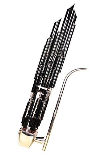 Professional Purple Bamboo Plating Black Pipe 36 Huang Chinese wind instrument Bamboo Sheng Flute Micropkonic Sheng
