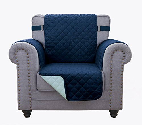 Grand Linen Reversible Chair Cover 63