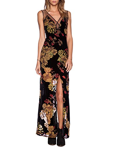 floaty sleeve chiffon floral dress - 3