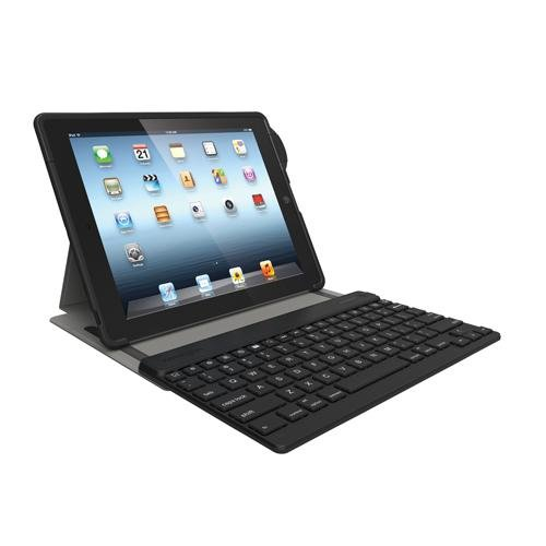 Kensington Keyfolio SecureBack Protective Security Case with Bluetooth Keyboard for iPad 4 with Retina Display, iPad 3 and iPad 2 (K67754AM) (Kensington Ipad 3 Keyboard Case)