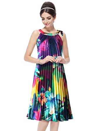 HE03328PP06, Purple, 4US, Ever Pretty Summer Casual Dresses For Ladies 03328