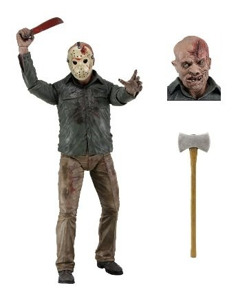 NECA Friday the 13th Series 2 Action Figure Jason Voorhees [Knife]